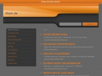 4test.de Webseite Vorschau