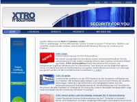 xtro.de Webseite Vorschau