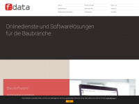 fdata.de Webseite Vorschau