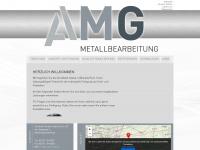 amg-metall.de Webseite Vorschau