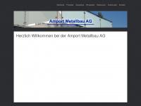 amport-metallbau.ch Webseite Vorschau