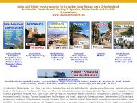 travel-infopoint.de Webseite Vorschau