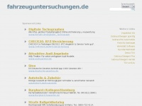 Fahrzeuguntersuchungen.de