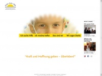 kinderkrebshilfe.at Webseite Vorschau