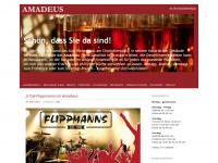 amadeus-stuttgart.de Webseite Vorschau