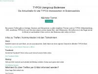 t3see.de Webseite Vorschau