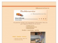 kisskamp-service.de Webseite Vorschau