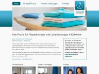 physiotherapie-kelkheim.de Webseite Vorschau