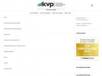 kvp.de Webseite Vorschau