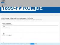 1899-forum.de Webseite Vorschau