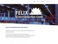 felix-sicherheit.de Webseite Vorschau
