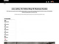 uvex-safety-shop.de Webseite Vorschau
