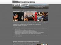 xtra4music.de Webseite Vorschau