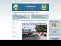 schuetzengau-sr-bog.de Webseite Vorschau