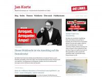 jankorte.de Webseite Vorschau