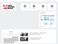 lotto-stiftung-berlin.de Webseite Vorschau