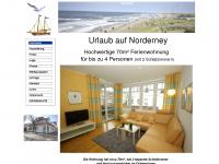norderney-familienwohnung.de Webseite Vorschau