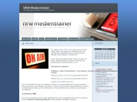 nrw-medientrainer.de Webseite Vorschau