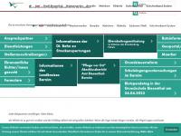 amt-biesenthal-barnim.de Webseite Vorschau