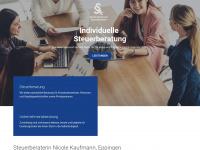 nu-kaufmann.de Webseite Vorschau