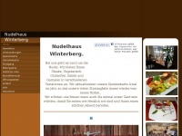nudelhaus-winterberg.de Webseite Vorschau
