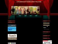 nudelbrettbuehne.at Webseite Vorschau