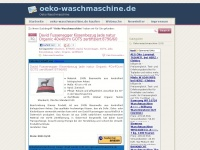 oeko-waschmaschine.de