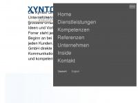 xyntos.ch Webseite Vorschau