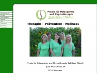 physiotherapie-loecknitz.de Webseite Vorschau