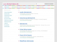 P-e-dental-labor.de
