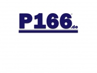p166.de Webseite Vorschau