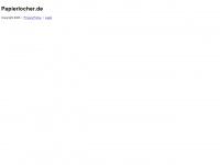 papierlocher.de Webseite Vorschau