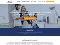 kotel.de Webseite Vorschau