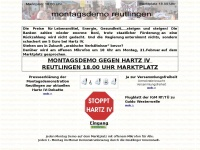 montagsdemo-reutlingen.de