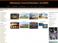 kiekebusch.com Webseite Vorschau