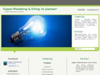 kipper-marketing.de Webseite Vorschau