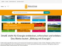 3male.de Webseite Vorschau