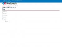 spedition-kolbeck.de