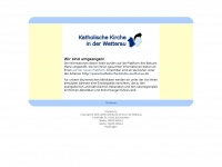 kirchen-wetterau.de Webseite Vorschau