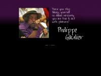 philippe-gaulier.de Webseite Vorschau