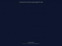 zusatzversicherungvergleich.de Webseite Vorschau
