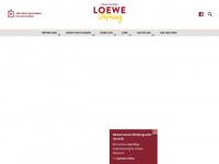 loewe-stiftung.de Webseite Vorschau