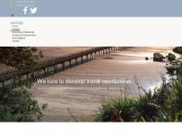 travel-bridge.com Webseite Vorschau
