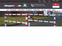 absperr24.de Webseite Vorschau