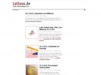 lottoso.de Webseite Vorschau