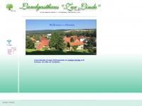 zur-linde-badenhausen.de Webseite Vorschau