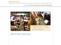 king-of-pots.com Webseite Vorschau