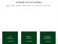 amputierten-fussball.de Webseite Vorschau