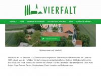 vierfalt.de Webseite Vorschau