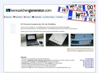 kennzeichengenerator.com